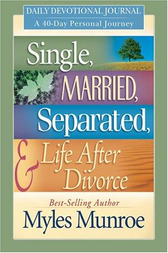 Single, Married, Separated, and Life After Divorce: Daily Study
